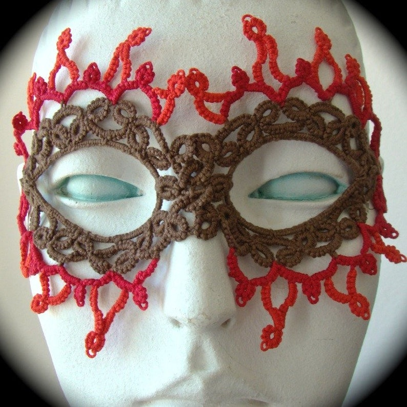 Tatted Lace Mask Chilly Down With The Fire Gang