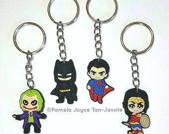 DC Characters Inspired Keychains