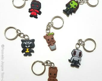 Guardians of the Galaxy Inspired Keychains