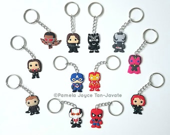 Captain America: Civil War (Avengers) Keychains (Limited Stock)