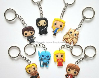 Game of Thrones Inspired Keychains (Limited Stock)
