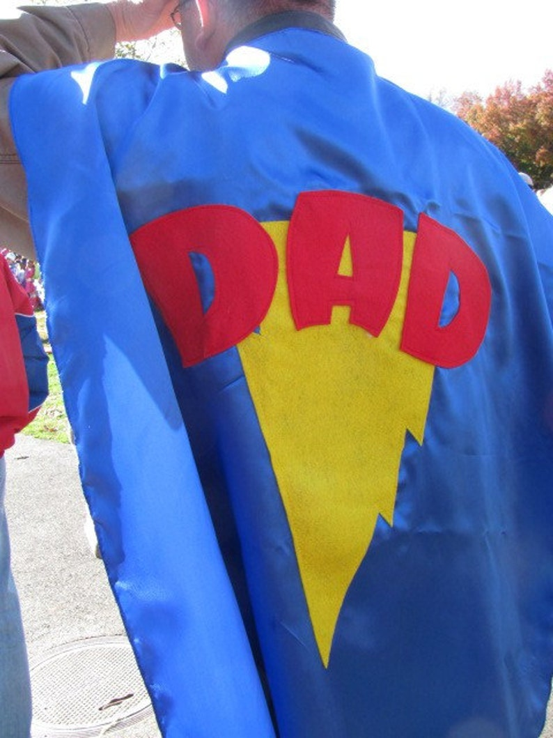 2 Adult Custom Superhero Costume Cape Custom MOM and DAD