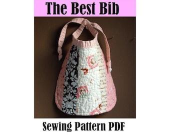 SEWING PATTERN - The Best Bib (PDF Download)
