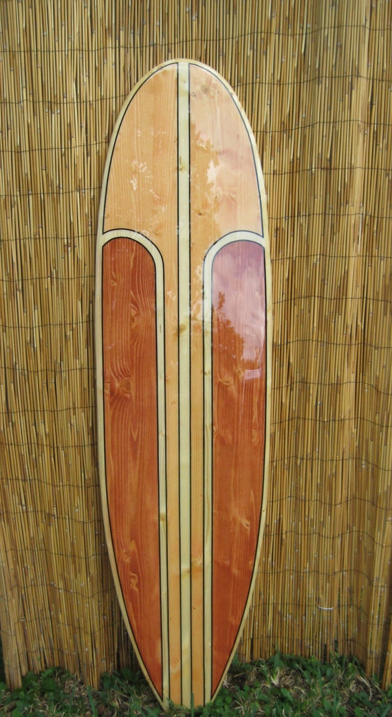 Decorative Wooden Surfboard Wall Art Sign for a Hotel | Etsy