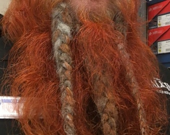 5b935a58777 Dwarven Beard extensions- CUSTOM MADE