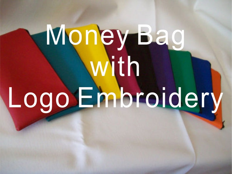 Money bag Embroidered Logo Only image 0