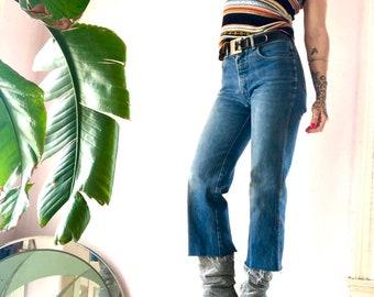0d2e404511e Vintage 80 s perfect fit high waist cropped Calvin Klein jeans