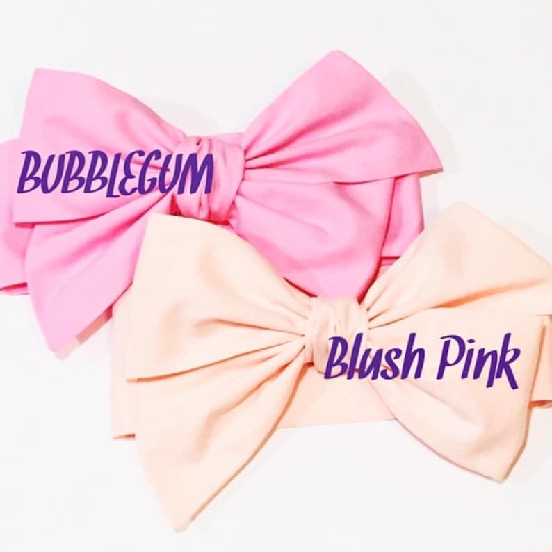 Pink Headwrap Girls Headwrap Baby Headwrap HeadWrap Girls image 0