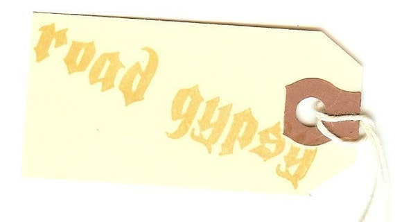 UNMOUNTED PERSONALIZED /'CREATED BY/'  RUBBER STAMPS C105