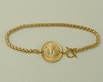 Greek Coin Bracelet 1973 Phoenix