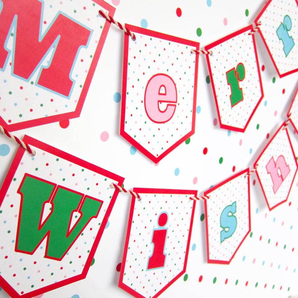 It's just a graphic of Nifty Happy Holidays Banner Printable