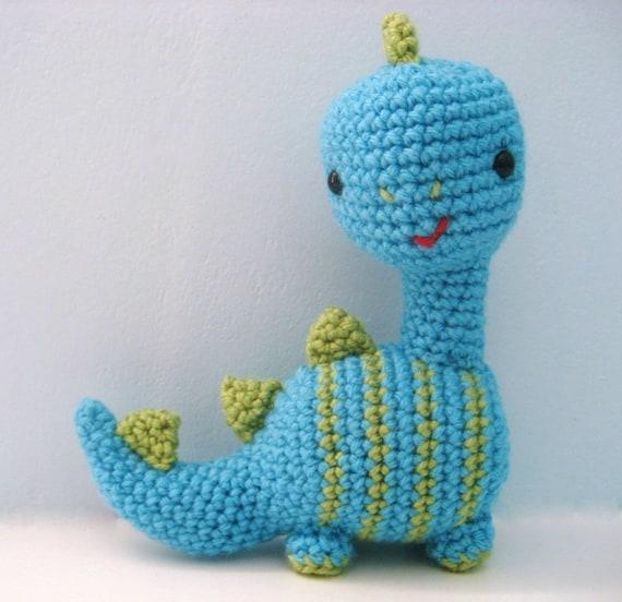How to Crochet a Triceratops Dinosaur    Amigurumi Pattern ...   552x570