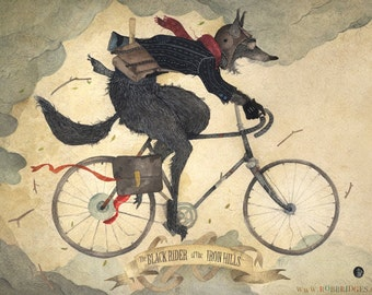 The Black Rider of The Iron Hills - Giclee /Print