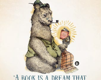 A Book Is A Dream - (Father Bear)