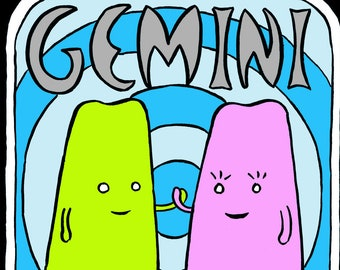 Gemini - Mr Toast Zodiac Framed Print