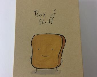 Mr Toast Box of Stuff