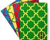 Stitchable journal Kit-Contemporary Needlepoint on Paper - Marrakech pattern