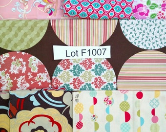 3.5 yards Fabric DESTASH LOT F1007 1 pound 4 ounces Includes Rare Alexander Henry and Urban Chiks Moda Quilt Fabric. Please Read Description