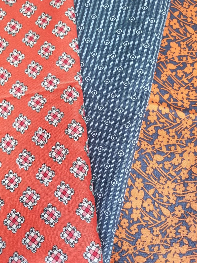 HTF Rare Rare Quilting Fabric Over 6 Yards DS Quilts by Denyse Schmidt for Fabric Traditions Bundle OOP