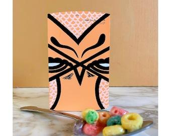 Original - Cheerful Tangerine, Home Depot Behr Paint Swatch