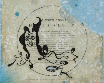 8x10 print - Let's Talk About Fidelity