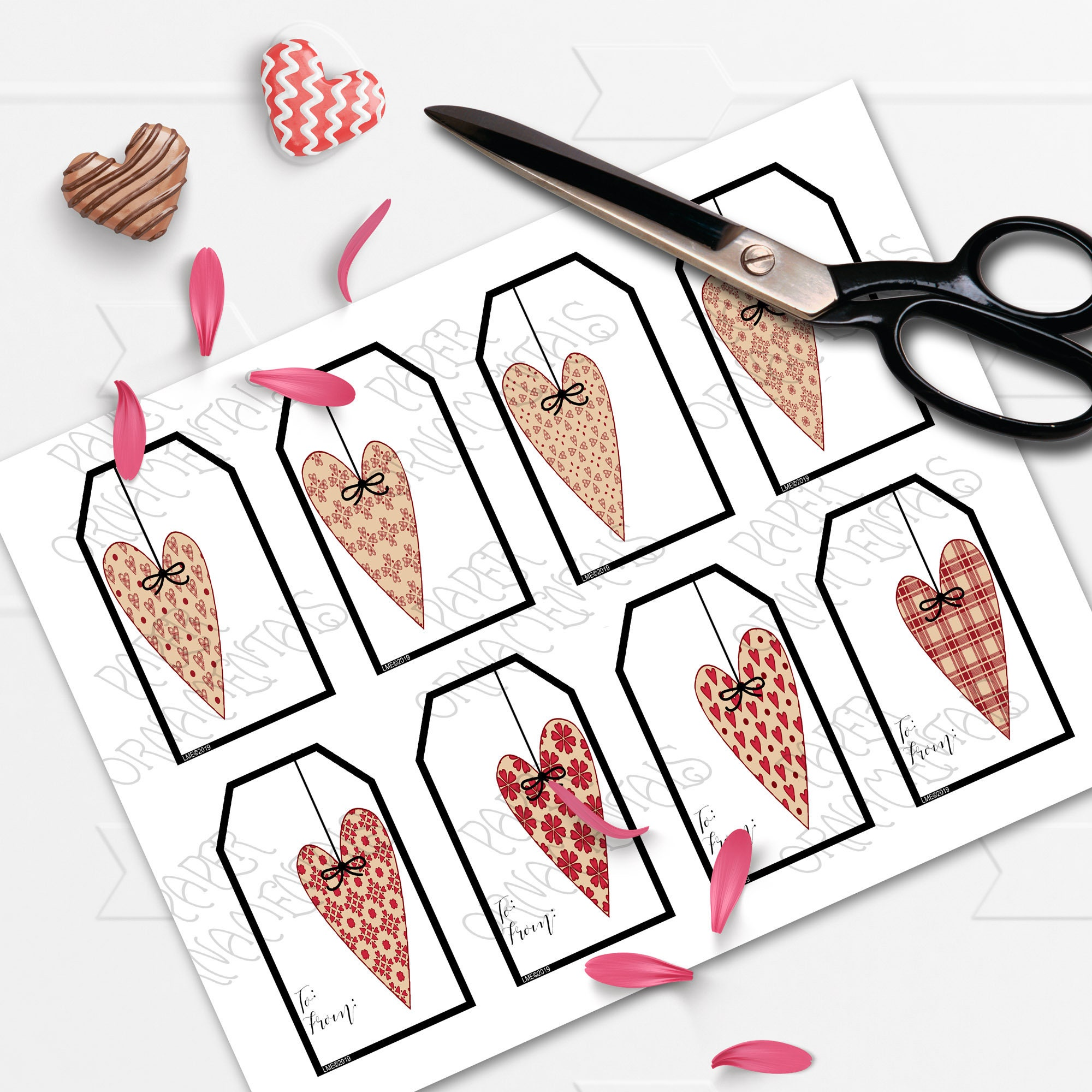 valentines day printable gift - HD2000×2000