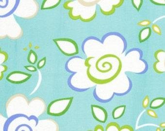 Dena Designs Fabric /  KUMARI GARDEN /  Sachi in Blue - 1 Yard Quilt Fashion Fabric  OUT Of Print
