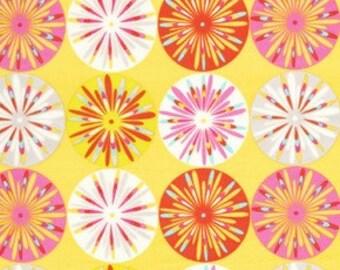 Dena Designs KUMARI GARDEN Sashi in PINK 1 Yard Quilt Fabric