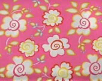 Dena Designs Fabric /  KUMARI GARDEN /  Sachi in Pink - 1 Yard Quilt Fashion Fabric  OUT Of Print