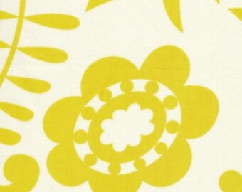 Dena Designs Fabric / KUMARI GARDEN /  Kamal in Moss -1 Yard Quilt Fabric