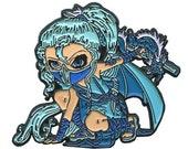 Blue Ninja Dragonling Col...
