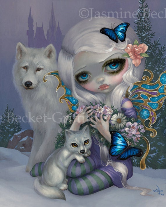 Gothic Poe Collection Set of FIVE BIG 12x16 art prints Jasmine Becket-Griffith