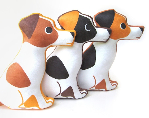 Jack Russell Terrier Plush Pillow