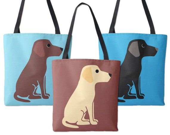 Labrador Retriever Dog Tote Bag