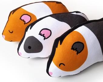 Dark Grey Guinea Pig Plush Stuffed Animal Soft Cute Plush Toy for Kids Gifts TOYANDONA 7 inch Plush Guinea Pig