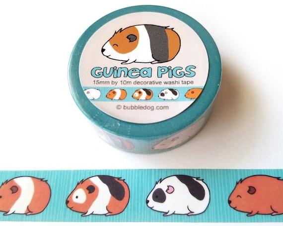 Guinea Pigs Decorative Washi Tape Roll