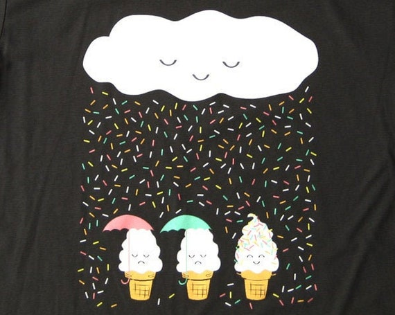Chance of Raining Sprinkles ADULT UNISEX T-shirt