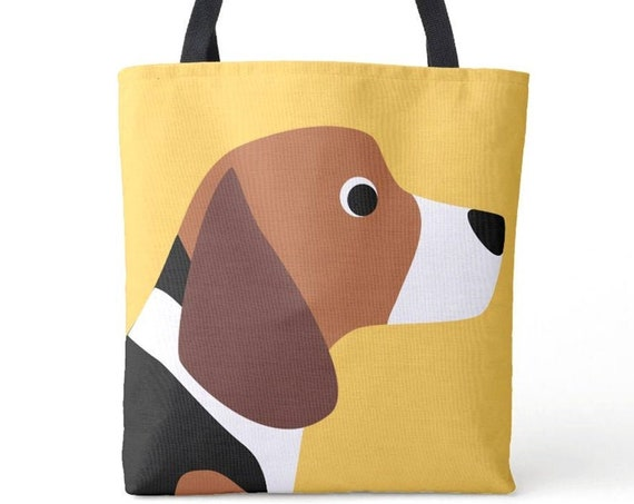 Beagle Dog Tote Bag