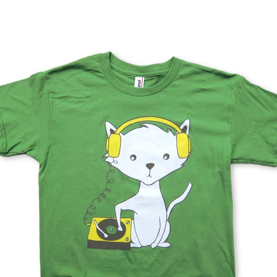 DJ Kitty Cat YOUTH T-shirt