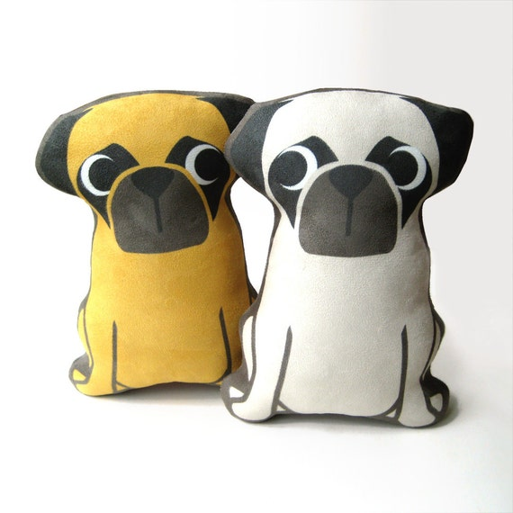 Pug Plush Pillow