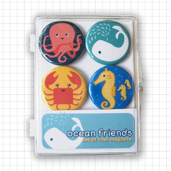 Ocean Friends Magnet Set