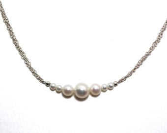 Amantine - Pearl necklace