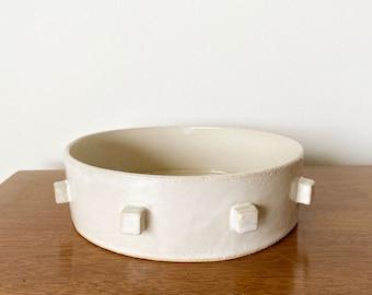 Cubist Ceramic Serving Dish