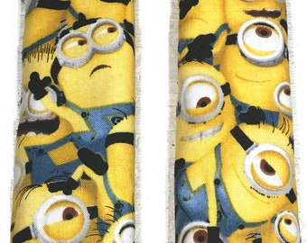 Minions Baby Car Seat Strap Covers