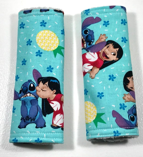 Lilo And Stitch Baby Car Seat Strap Covers Baby Infant Etsy