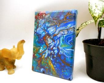 Acrylic Pour Fluid Painting Wall Art