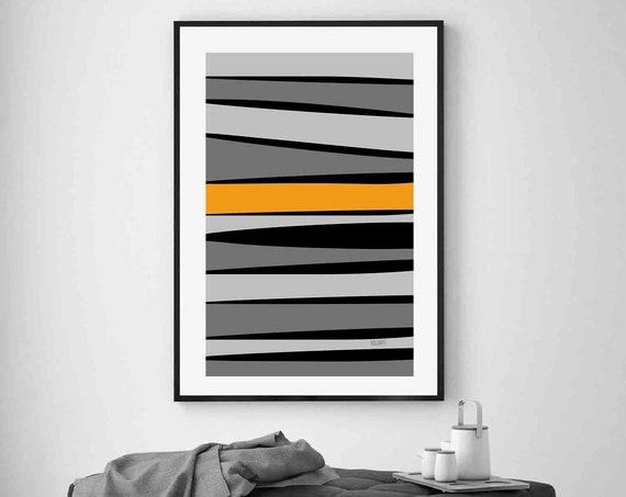 Printable Art, Stripes Contemporary Large Art, Instant Download, Modern Print Instant Download Art Print Abstract Wall Art, RegiaArt