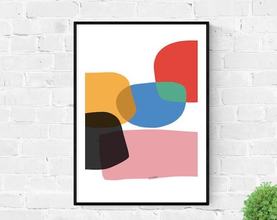 Printable Art, Large Abstract Art, Printable Abstract Art, Large Art, Colorful Art, Large Art Prints, 24x36, Abstract Painting, RegiaArt