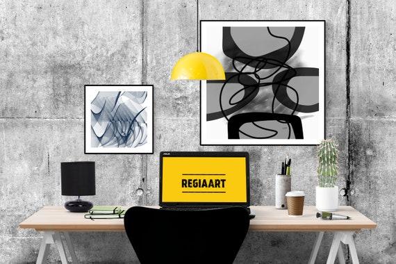 Printable Art Abstract, Black and White Large Art, Minimalist Art, Modern Print, Digital Painting, Art Print Abstract Art, Home Decoration