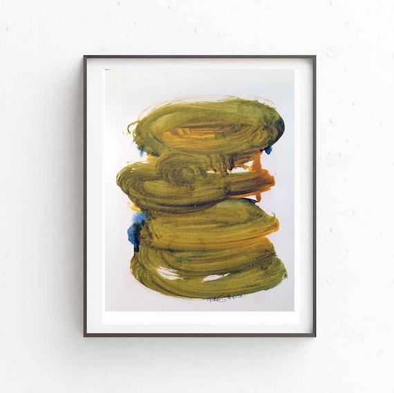 Printable Abstract Art, Contemporary Print, Gold Art Print, Minimalist Art, Abstract Wall Art, Modern Decor,  Digital Download, RegiaArt
